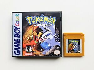 Pokemon-Pyrite-Nintendo-Gameboy-Color-GBC-Fan-Made-Hack-USA-Seller