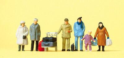 Accurato Preiser 14038 Scala H0 Figure,passeggero,invernali Abbigliamento # Neu Scatola