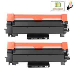TN760 with Chip for Brother TN-760 Toner DCP-L2550DW HL-L2390DW L2395DW L2370DW