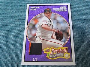 2008-Upper-Deck-Baseball-Heroes-Barry-Zito-Jersey-Card-B17-Giants-3-of-5