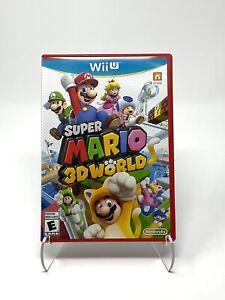 Super Mario 3D World Wii U Nintendo (2013) Complete - Tested!
