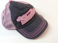 Genuine Skeeter Boats Ladies Chine Twill Hat Pink/charcoal