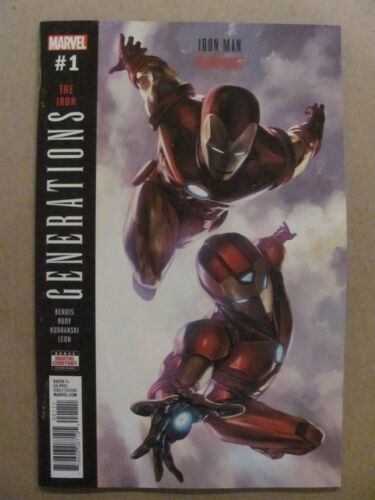 Generations Ion Man /& Ironheart #1 Marvel 2017 One Shot 9.6 Near Mint+