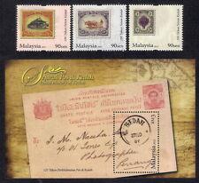 2012 MALAYSIA POSTAL HISTORY OF KEDAH (3v+M/S) MNH