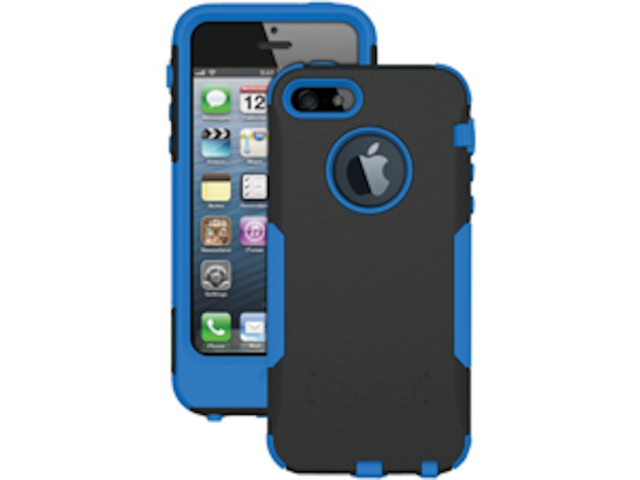 official photos 37525 6cffc Trident Aegis Hybrid Case for iPhone 5/ 5s Black and Blue for sale ...