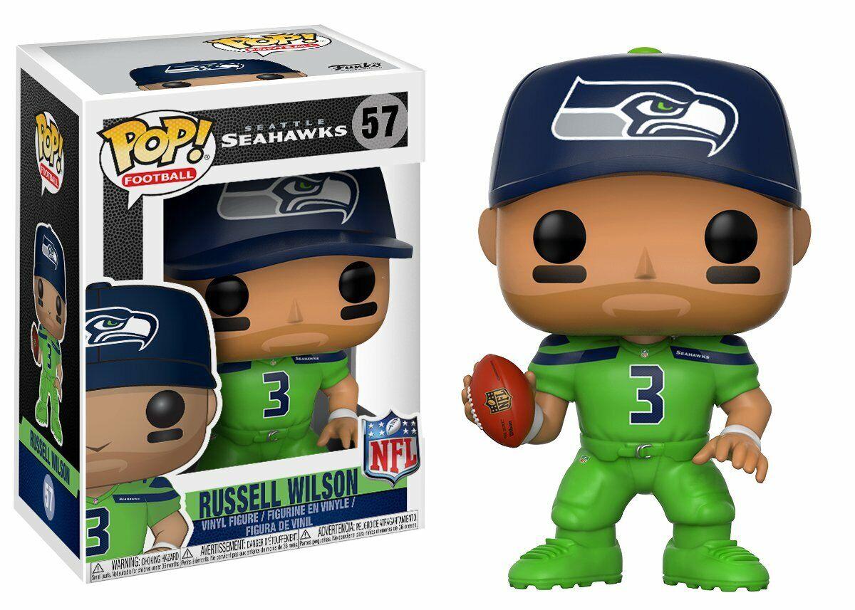divertimentoko Pop Footbtutti 57 NFL Seattle Seahawks 20157 Russell Wilson