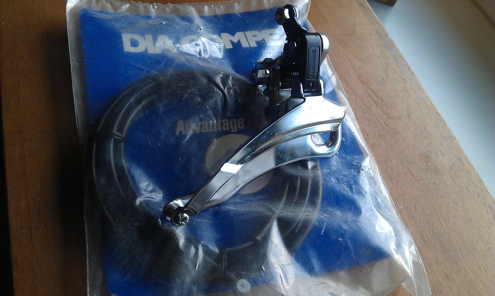 Shimano FD-TY25 Derrailleur Umwerfer Rennrad Bike Dia Compe Cable MTB BMX ATB