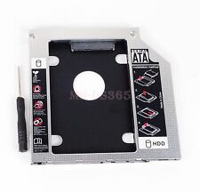 SATA 2nd Hard Drive HD HDD SSD Caddy For Dell Alienware M14X M14Z M15X M17X M18X