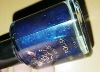 Ruby Kisses Nail Polish Lacquer In Blue Pearl Rnp38