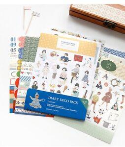 9-sheets-Cute-doll-deco-ver-4-stationery-calendar-photo-notebook-diary-sticker