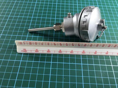 50MM LONG PT100//RTD Temperature Probe 3 Wire 6 MM DIAMETER