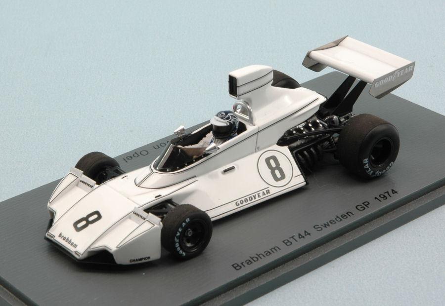 buon prezzo Brabham Bt44 R. R. R. Von Opel 1974  8 9th Sweden Gp 1 43 modello S4786 SPARK modello  nelle promozioni dello stadio