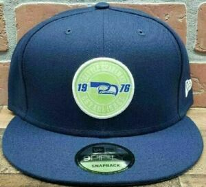 New-Era-Seattle-Seahawks-Blue-Hat-9FIFTY-Snapback