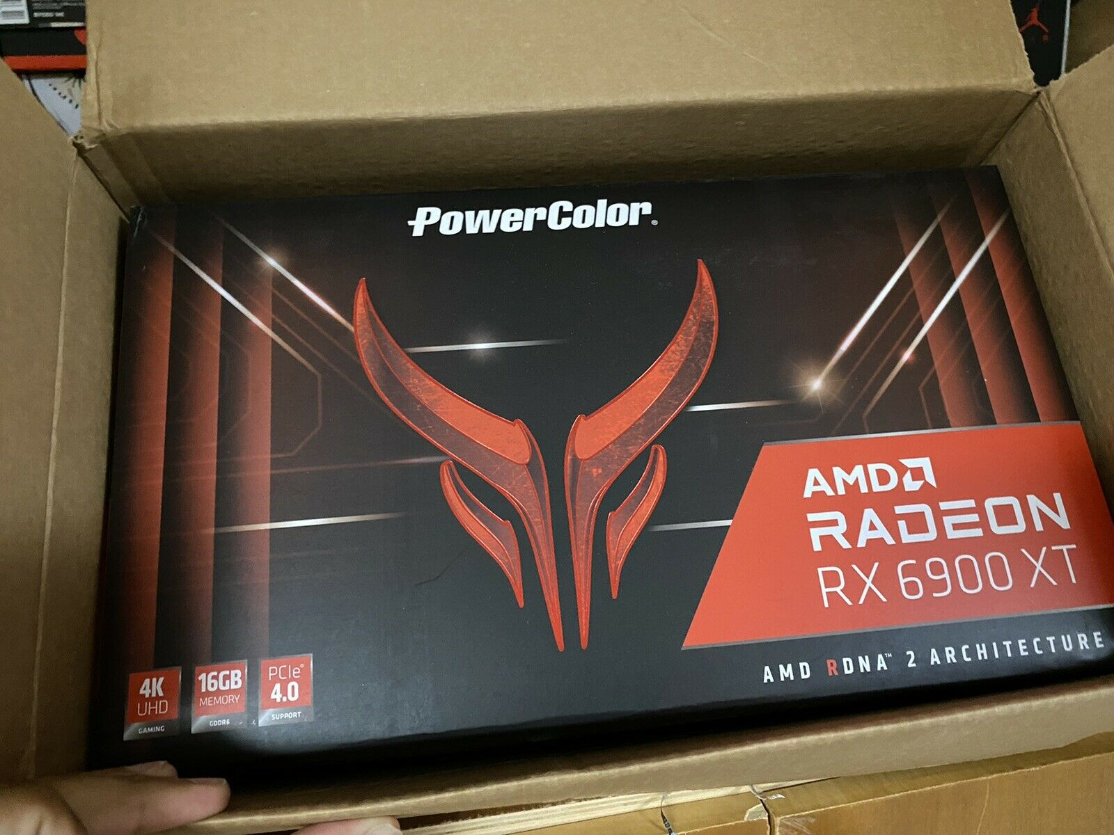 *IN HAND!* Power Color Red Devil AMD Radeon RX 6900XT Graphics Card Ships Fast!