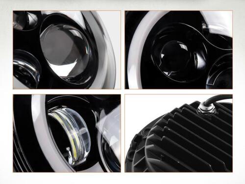 7 inch LED Headlight DRL For Yamaha V-Star XVS 650 950 1100 1300 Classic Stryker
