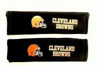 Cleveland Browns Seat Belt Covers Shoulder Pad Nfl Auto Strap Football Team Logo