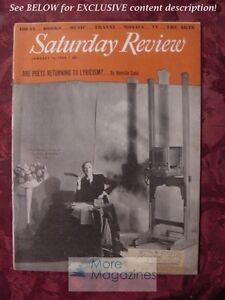 Saturday-Review-January-16-1954-CECIL-BEATON-MELVILLE-CANE