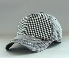 b8e1fb1d74b08 Ben Sherman Men s Multi Check Baseball Hat Golf Ball Cap OSFA Adjustable  Jet Blk