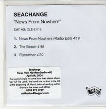 (DG312) Seachange, News From Nowhere - 2004 DJ CD