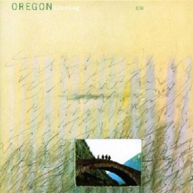 OREGON - CROSSING  CD  9 TRACKS MODERN JAZZ  NEU