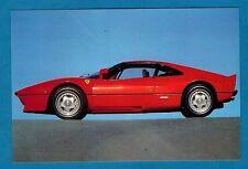 Sports Car Postcard ~ Ferrari 288 GTO - Niccolini of Italy