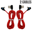 miniature 10 - Bulk 6Ft 90 Degree Right Angle Type C Fast Charger Cable USB C Cord For Samsung
