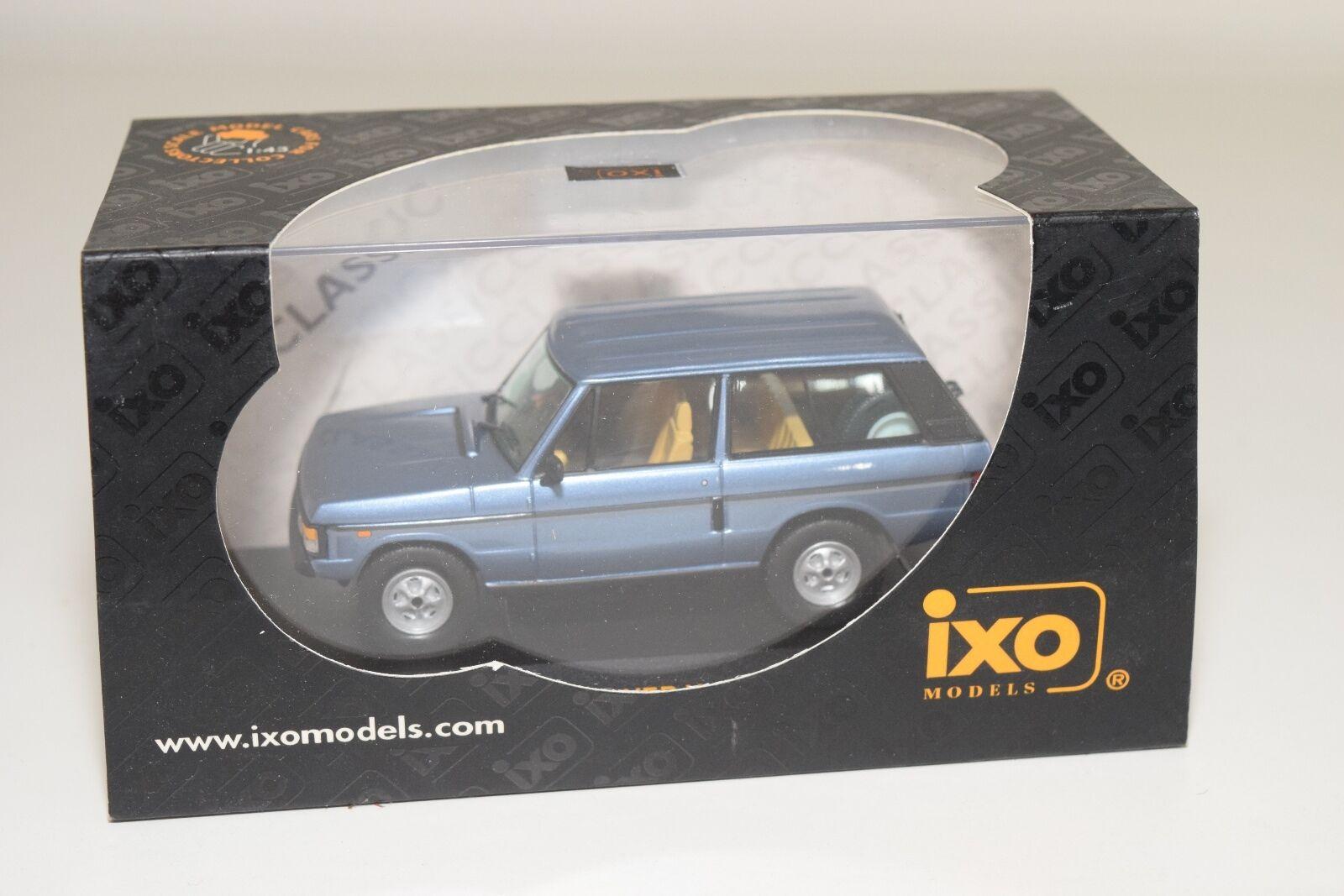 . IXO CLC038 RANGE ROVER VOGUE 1980 METALLIC Blau MINT BOXED RARE SELTEN RARO