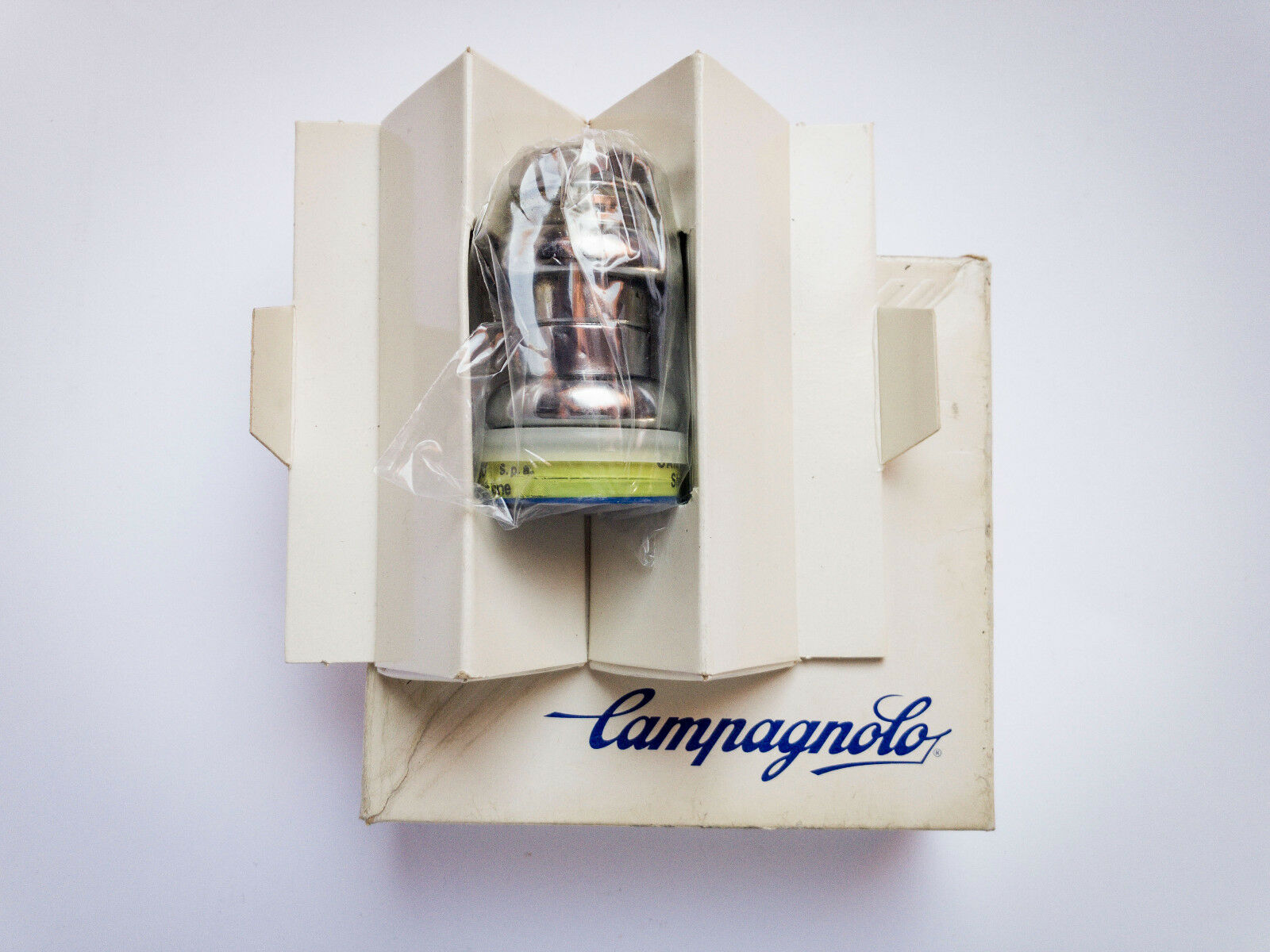 Vintage'80s Campagnolo Triomphe ITA  Thread steel headset serie sterzo NEW IN BOX  is discounted