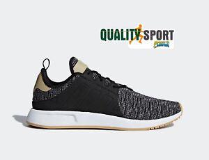 new arrival e6772 03fb8 Caricamento dell immagine in corso Adidas-X-PLR-Nero-Scacchi-Scarpe-Shoes- Uomo-