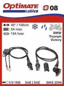 Optimate-SAE-12v-Din-Socket-Cable-SAE78-Impermeable-Accesorios-Enchufe-08
