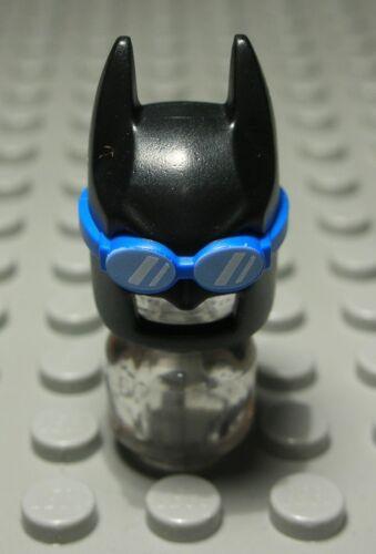Lego Figur Zubehör Kopfbedeckung Maske Schwarz mit Dekor Batman 1580 #