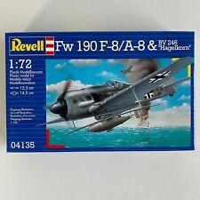 "FOCKE WULF 190 F8//A8 /& BV 246 /""HAGELKORN/"" REVELL 04135 1//72"
