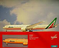 Herpa Wings 1:500 Boeing  777-300ER  Alitalia EI-WLA  531863  Modellairport500