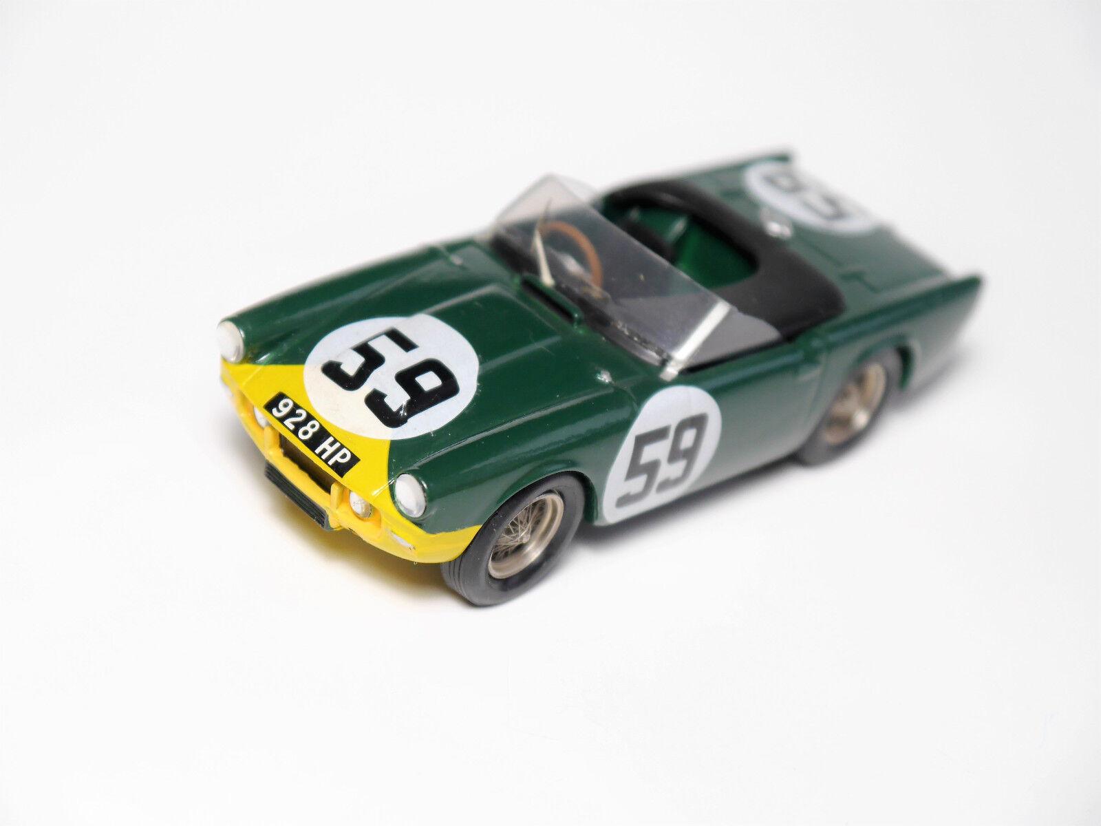 TRIUMPH TRS  Le Mans 1960   59, à la main handmade Provence Moulage en 1 43