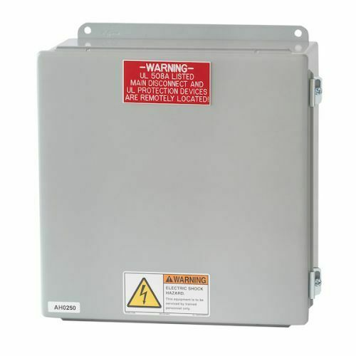 HoodMart Electrical Control UL listed 3//4 HP 1 Exhaust//1 Supply 115V
