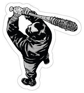 The Walking Dead 7 Negan Smashed Wall Decal Graphic Wall Sticker Art Mural H688