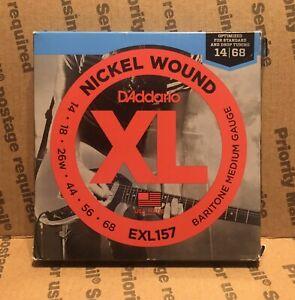D/'Addario EXL157 Nickel Wound  Baritone Medium 14-68  Electric Guitar Strings