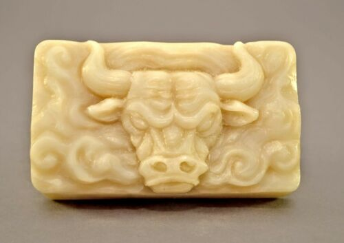 BULL SILICONE  MOLD SOAP PLASTER RESIN CLAY MOULD BAR