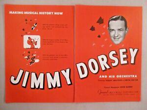 Jimmy Dorsey ORCHESTRA double-page print ad - 1944-afficher le titre d`origine OJAxnNzF-09093151-767651541