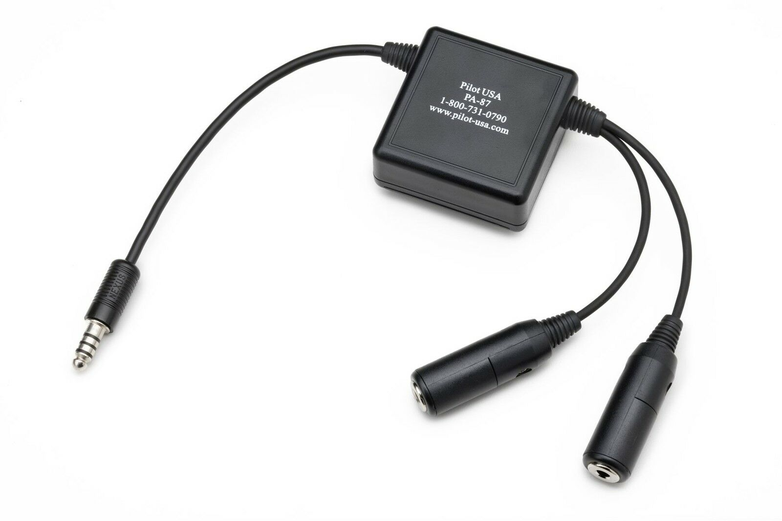 Aircraft Headset Impedance Converdeer Hi (GA) to Low (Military)