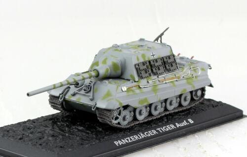 Panzer Panzerjäger Tiger B Wehrmacht UT Fertigmodell 1:72 Altaya Modell