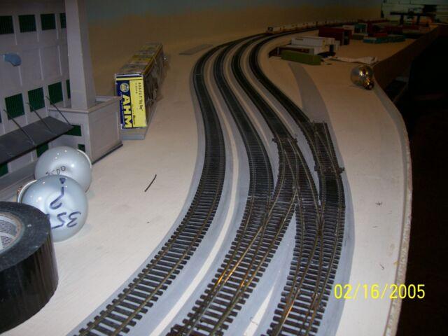 "180/' Free Sample 30pcs not cork O Scale 1//4/"" Black Sound Foam Track Roadbed"