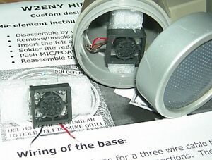 w2eny hifi kit replacement element for shure 444 444d ebay. Black Bedroom Furniture Sets. Home Design Ideas