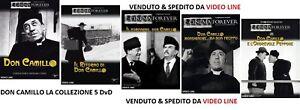 Dvd-Don-Camillo-amp-Peppone-La-Collezione-5-Film-7-Dvd-NUOVO