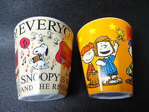 Collectibles Brilliant Peanuts Snoopy Melamine Tumbler Set