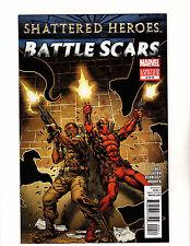 Battle Scars #4 (2012, Marvel) VF/NM Nick Fury Jr & Deadpool Cover!