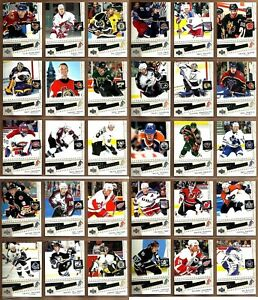 2005-06-UPPER-DECK-SCRAPBOOK-COMPLETE-30-CARD-INSERT-SET-LOT-Gretzky-Lemieux-BV
