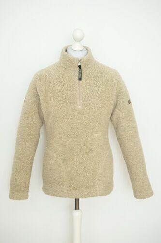 Womens Napapijri Pullover Printed 1/3 Zip Fleece S