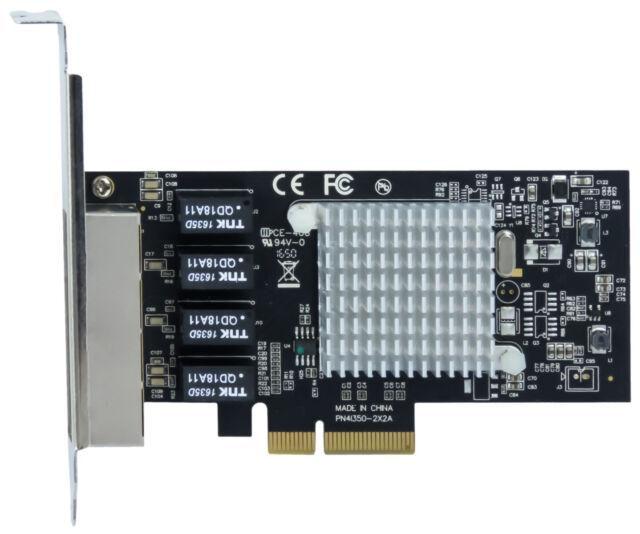 StarTech ST4000SPEXI 4-PORT GIGABIT NIC PCIe
