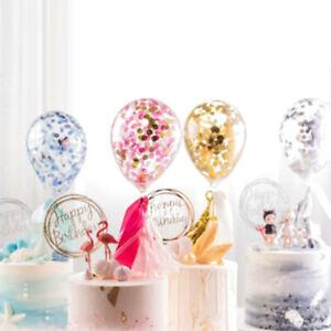 1Pc-Round-Confetti-Balloon-Happy-Birthday-Cake-Topper-Decor-Party-AccessoriesJ3C